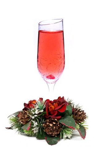 holiday / christmas cocktail recipes with Ciroc Vodka and Moët & Chandon Brut Imperial Champagne