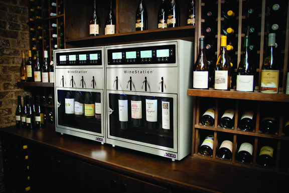 8 Bottle Retail Wine Bar Self Service