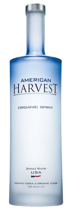 american harvest organic vodka