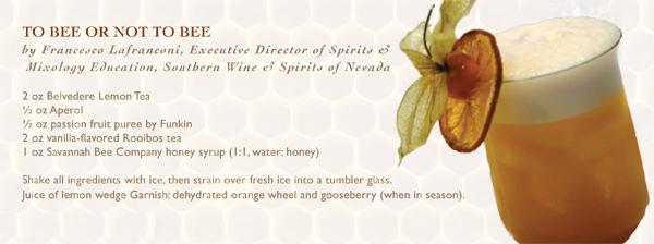 belvedere lemon tea vodka and savannah bee company honey cocktail recipe