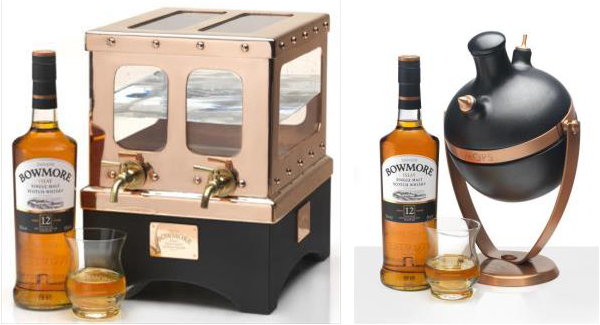 THE GLOBAL BOWMORE WATER PROGRAM - whisky and water undiluted