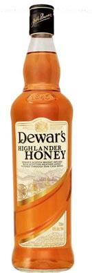 new dewar's highlander honey scotch