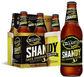 newmike's hard lemonade authentic shandy