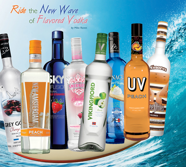 new flavored vodkas for spring 2013