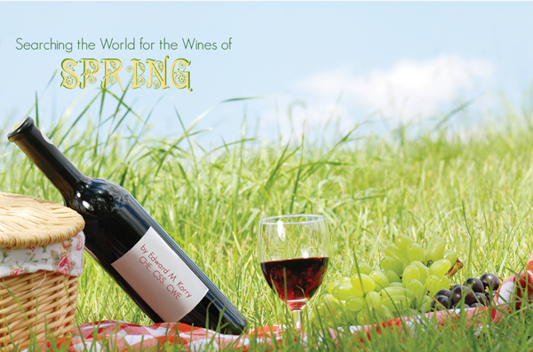 spring wines of the world by edward korry