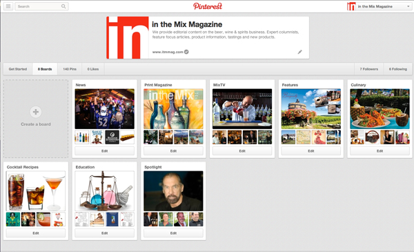 in the mix magazine on pinterest