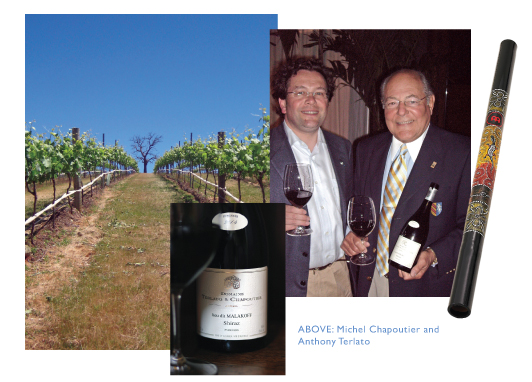 TERLATO and CHAPOUTIER - Australian Wine