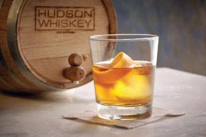 barrel aging hudson whiskey