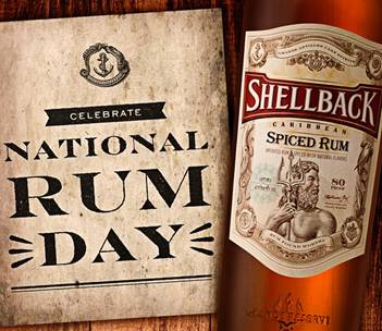 national rum day - new rum - shellback rum