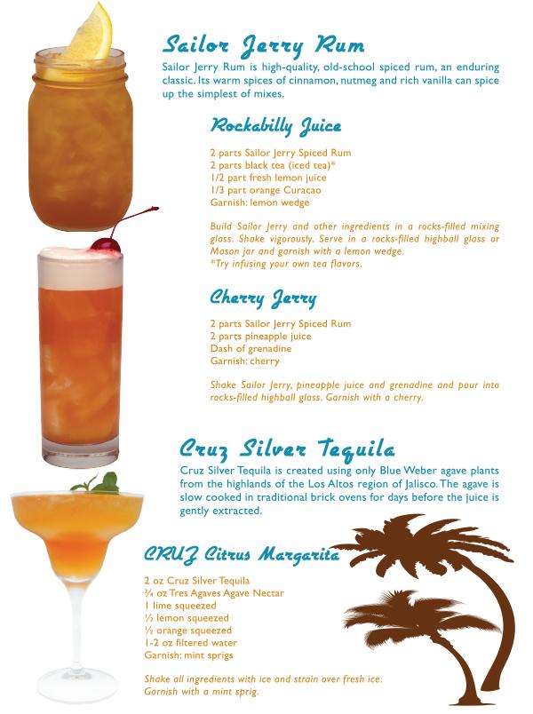 sailor jerry cocktail recipes