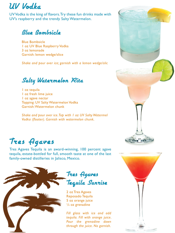 Refreshing cocktail recipes in the mix magazine for Great vodka mixed drinks
