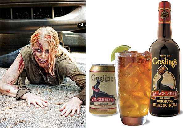 DARK AND STORMY FOR HALLOWEEN WITH GOSLING'S