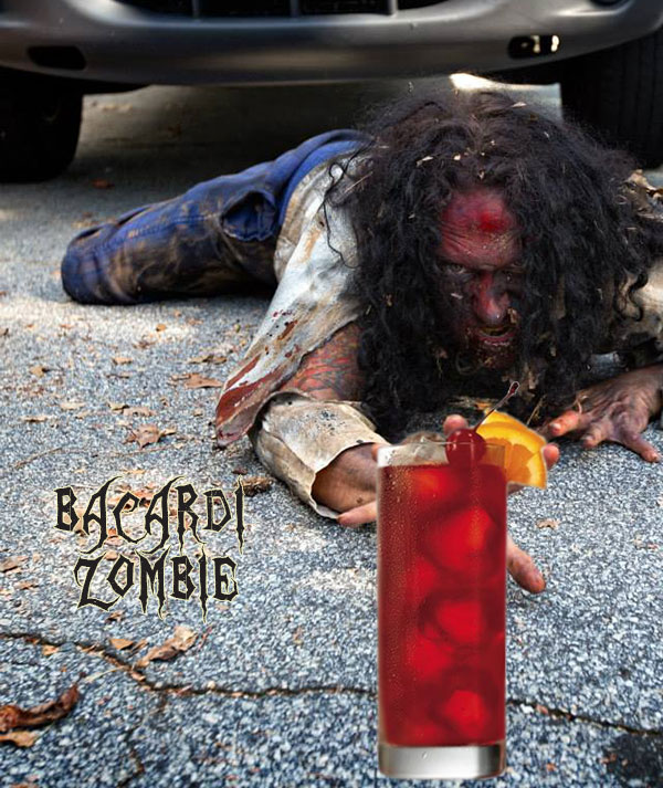 bacardi zombie halloween cocktail recipes