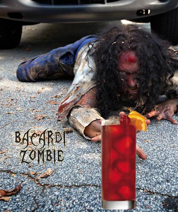 bacardi zombie halloween cocktail recipes