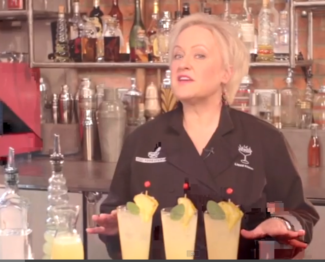 Pineapple Mezcal Cooler Cocktail with Kathy Casey
