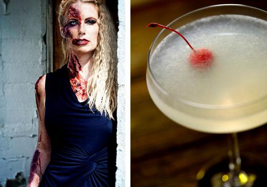 corpse revivor cocktail recipe - zombie - halloween