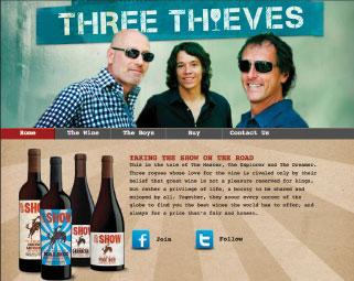 three thieves wine