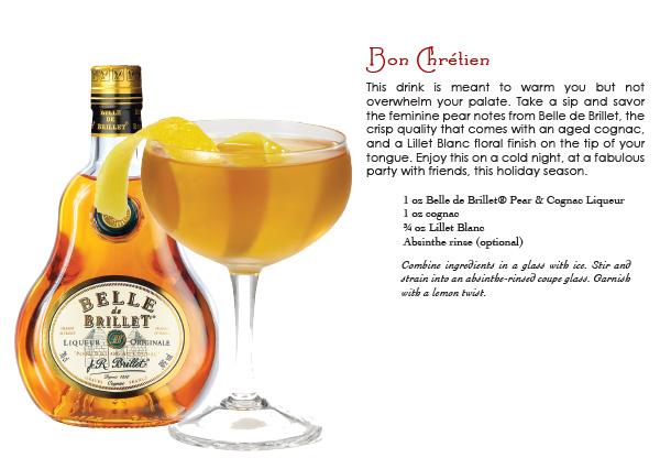 belle de brillet pear & cognac liqueur
