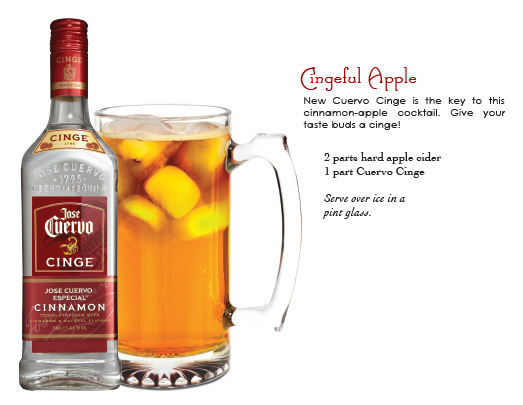 jose cuervo - cingeful apple cocktail recipe
