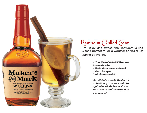 maker's mark - kentucky mulled cider