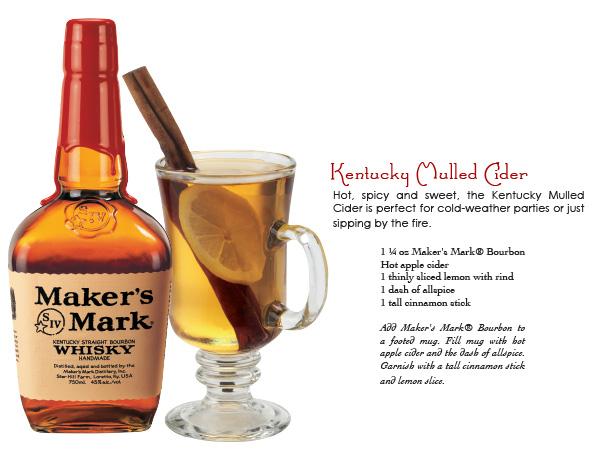 maker's mark - kentucky mulled cider
