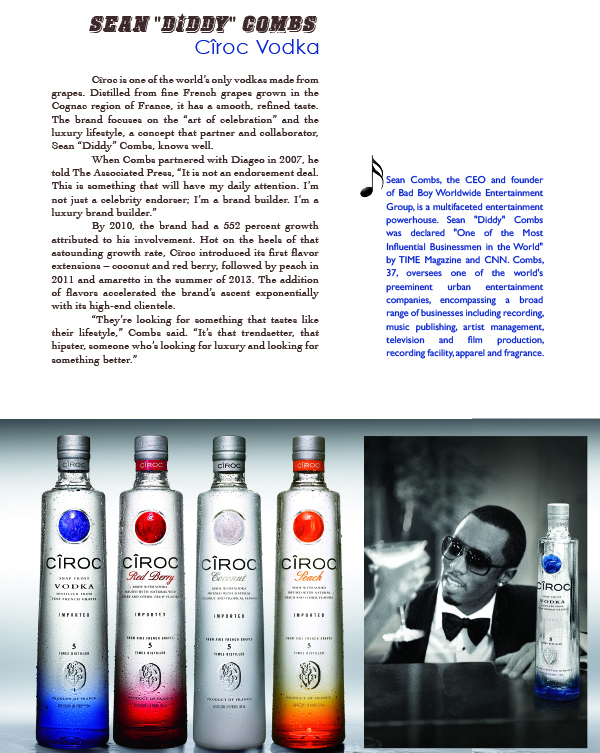 p diddy - ciroc