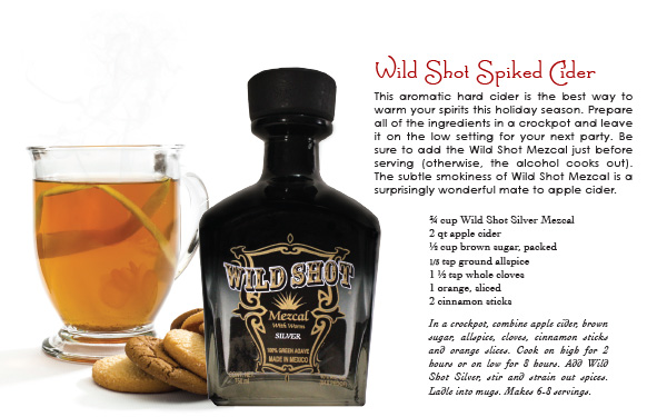 wild shot mescal - spiked cider