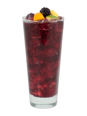 bikini berry sangria - low calorie cocktail
