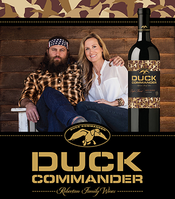 Duck Commander Wines are the perfect pairing