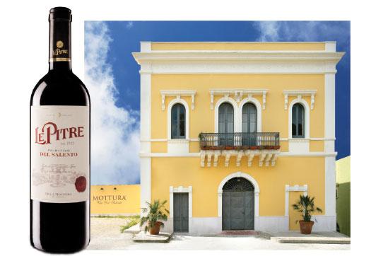 wine - Le Pitre  Primitivo del Salento 2010