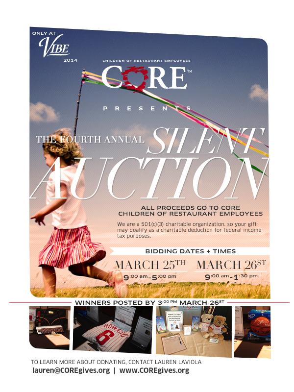 CORE Silent Auction 2014