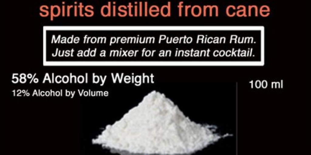 powdered alcohol
