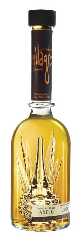 milagro tequila bottle design