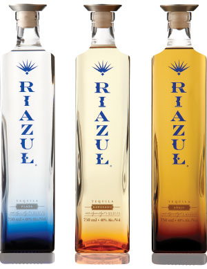 riazul tequila bottle design