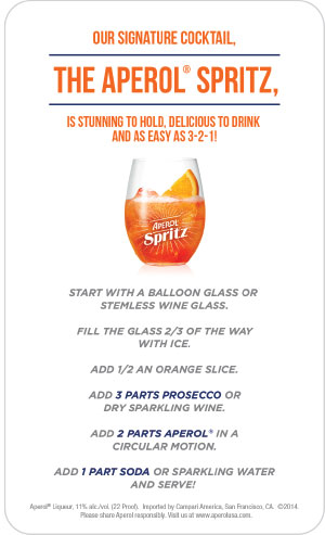 promotion mix for spritzer Celebrate old glory in style with the citrus-spangled spritzer recipe from the cocktail project it's an all-american drink that's cool and refreshing must be 21.