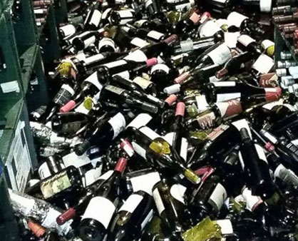 Wine Spectator: Earthquake Strikes Napa Valley
