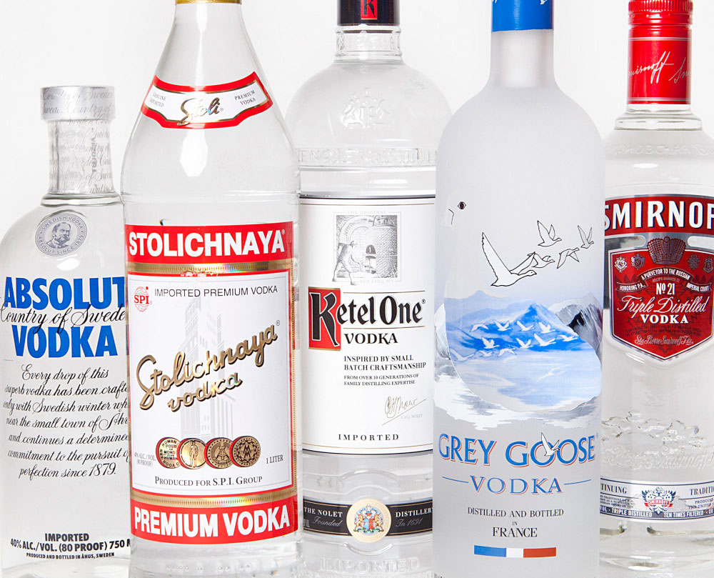 Spirits Companies Encounter More Competition in U.S. Vodka Market
