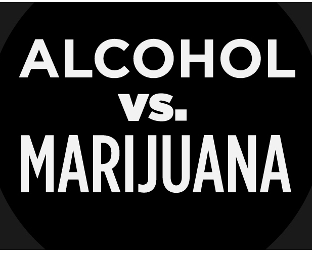 Which Is Healthier: Marijuana or Alcohol?