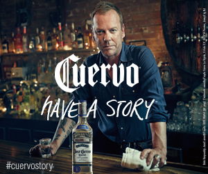 Jose Cuervo with Keifer Sutherland