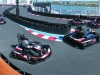 The two-level competitive go-kart racetrack.