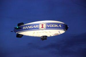 The Hanger 1 Vodka Blimp Tour
