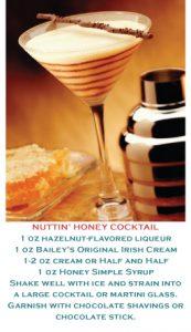 Hazelnut-Flavored Liqueur / Bailey's cocktail