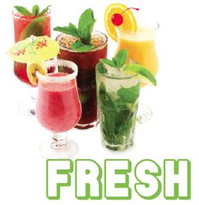 Fresh Cocktails by Gary Vega of Cutting Egde Marketing