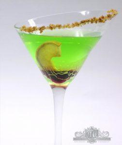 Twisted Apple Martini - by David Brogan - Reposado Tequila