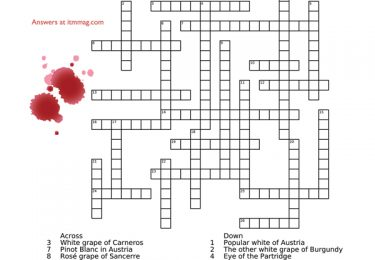 test your wine knowledge crossword by barry wiss