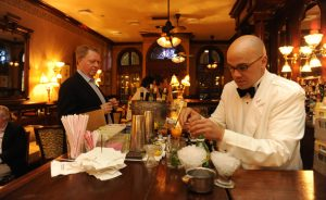 french 75 bar in new orleans with chris hannah