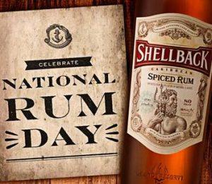 national rum day - new rum - shellback rum