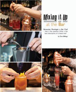 bartender versus mixologist versus bar chef