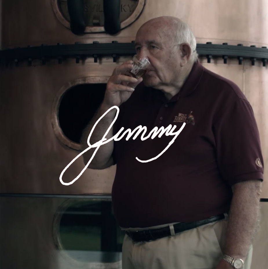 wild turkey master distiller jimmy