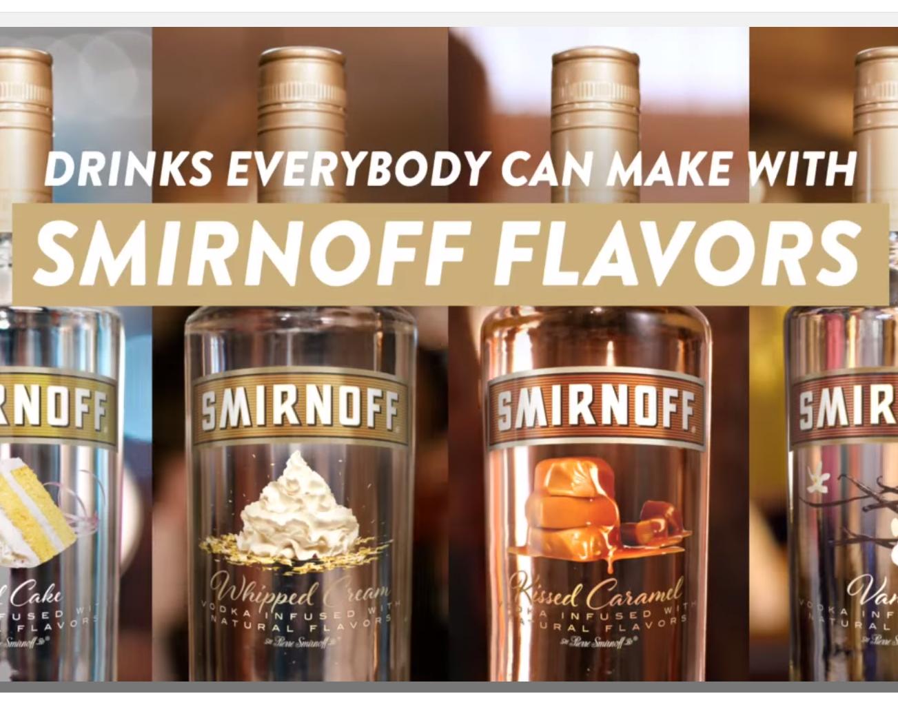 smirnoff flavors video
